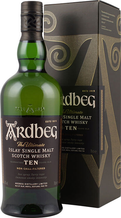 Ardbeg Whisky Ten