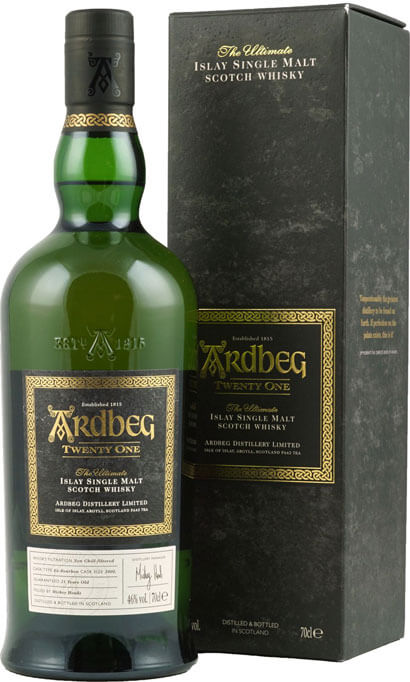 Ardbeg Whisky Twenty-One