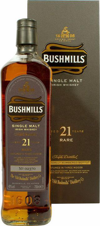 Bushmills Whiskey 21 Jahre