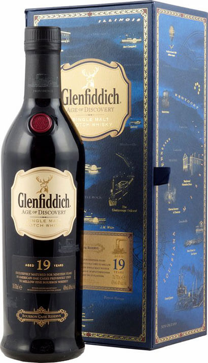 Glenfiddich Whisky Age of Discovery 19-Jahre Bourbon Cask