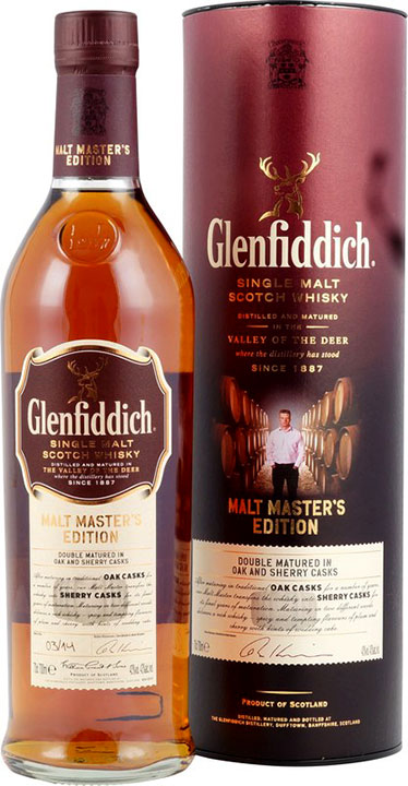 Glenfiddich Whisky Malt Masters Edition 12-Jahre Batch