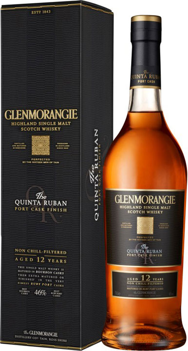 Glenmorangie Whisky Quinta Ruban Port Cask Finish