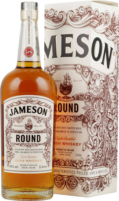Jameson Whiskey The Deconstructed Round 1-Liter