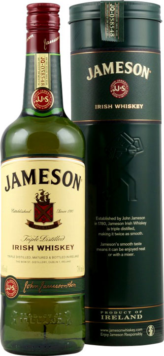 Jameson Whiskey Tin Canister