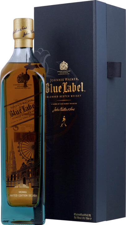 Johnnie Walker Whisky Blue Label Vienna Limited Edition