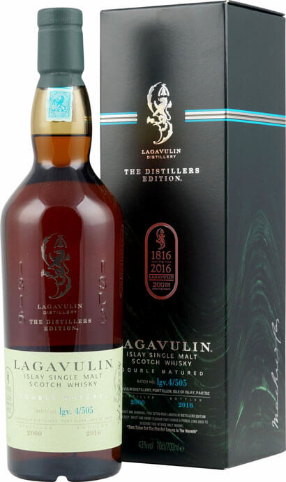 Lagavulin Whisky Distillers Edition 2016