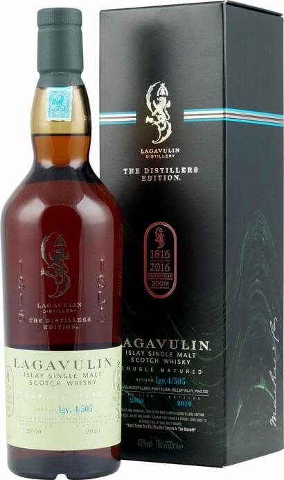 Lagavulin Whisky Distillers Edition 2016